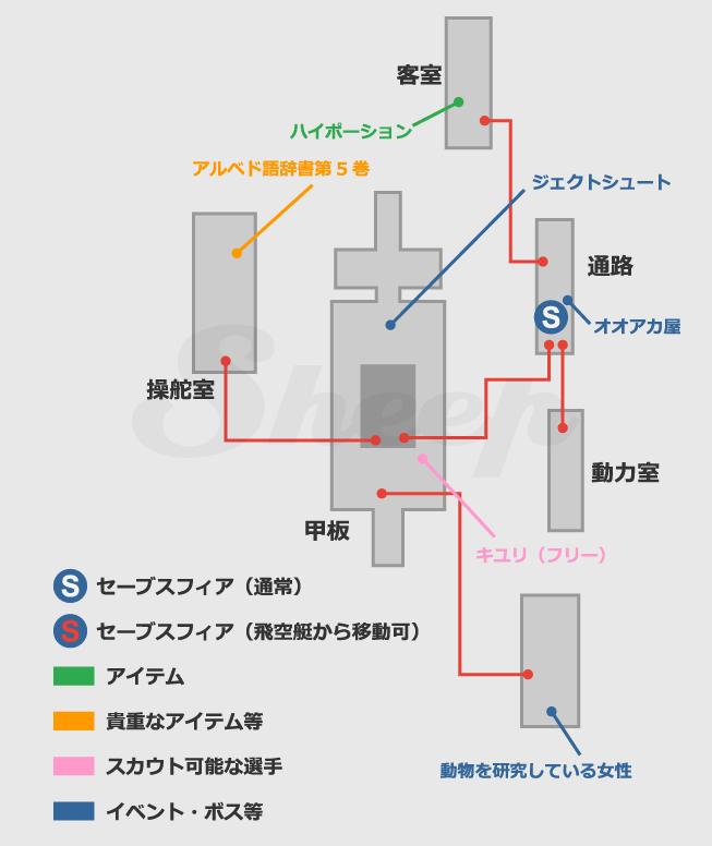 連絡船ウイノ号 | FF10攻略 Sheep(HDリマスター)